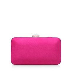 Carvela - Pink 'Dori' clutch bag