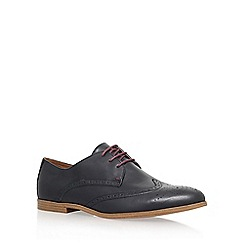 KG Kurt Geiger - Black 'Bairstow' flat lace up formal shoe