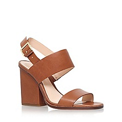 Vince Camuto - Brown 'corwyn' high wedge heel sandal