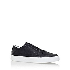 KG Kurt Geiger - Black 'Phoenix' flat lace up sneakers