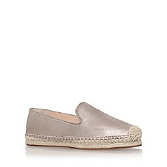 Vince Camuto - Gold 'Darah' flat slip on sneakers