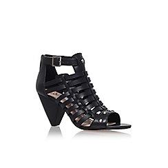 Vince Camuto - Black 'Elia' mid heel strappy sandal