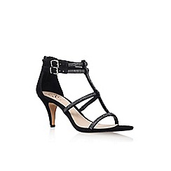 Vince Camuto - Black 'malla' high heel sandal