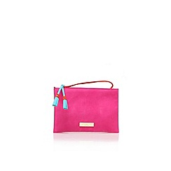 Carvela - Pink 'Gabriel Pouch' clutch bag