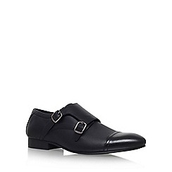 KG Kurt Geiger - Black 'Cozier' monk shoes