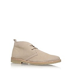 KG Kurt Geiger - Beige 'Arliz' lace up ankle boot
