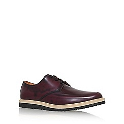 KG Kurt Geiger - Red 'Angus' lace up formal shoe