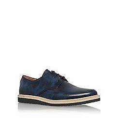 KG Kurt Geiger - Blue 'Angus' lace up formal shoe