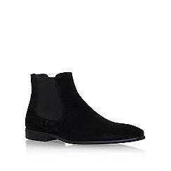 KG Kurt Geiger - Black 'Francis' flat ankle boot