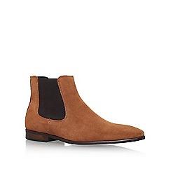 KG Kurt Geiger - Brown 'Francis' flat ankle boot