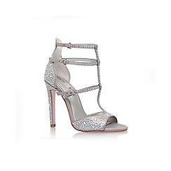 Carvela - Silver 'Gaye' High Heel Sandals