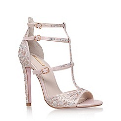 Carvela - Pink 'Gaye' high heel sandal