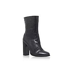 Carvela - Black 'Shield' high heel boot