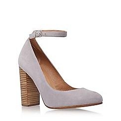 Carvela - Grey 'Adonis' high heel court shoes