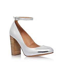 Carvela - Silver 'Adonis' high heel court shoes
