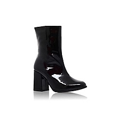 Carvela - Black 'Slinky' mid heel ankle boot