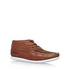 KG Kurt Geiger - Tan 'Marlo' flat lace up shoes