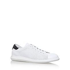 KG Kurt Geiger - White 'clinton' lace up sneaker