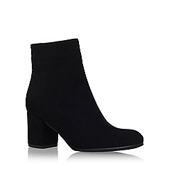 Carvela - Black 'Subtle' mid heel ankle boot