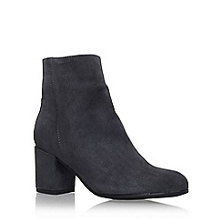 Carvela - Grey 'Subtle' mid heel ankle boot