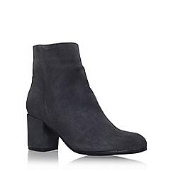 Carvela - Grey 'Subtle' mid heel ankle boot