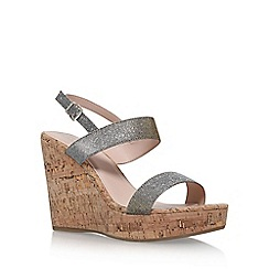 Carvela - Metal 'Kay' high heel wedge sandals