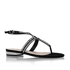 Carvela - Black 'Bonnie' toe thong sandal