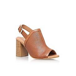 Carvela - Brown 'Sierra' high heel shoe boot