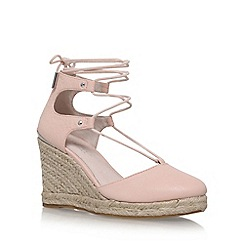 Carvela - Pink 'Kute' high heel wedge sandal