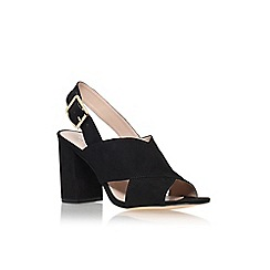 Carvela - Black 'serene' high heel slingback sandal