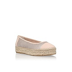 Carvela - Natural 'Lionel' flat slip on pumps