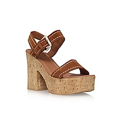 Carvela - Brown 'Kandid' high heel sandal