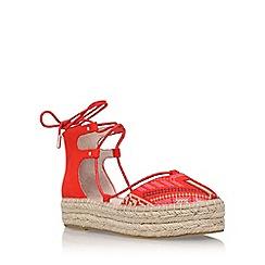 Carvela - Red 'Kant' flat sandals
