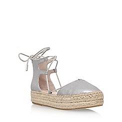 Carvela - Silver 'Kant' flat sandals