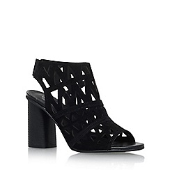 Carvela - Black 'Kupid' high heel sandals