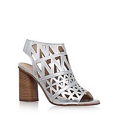 Carvela - Silver 'Kupid' high heel sandal