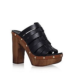 Carvela - Black 'Kandy' high heel shoe boot