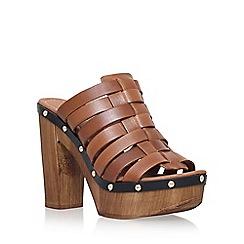 Carvela - Brown 'Kandy' high heel sandal