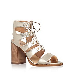 Carvela - Gold 'Kandice' high heel sandals