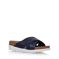 Carvela - Blue 'Kasper' flat slip on sandals