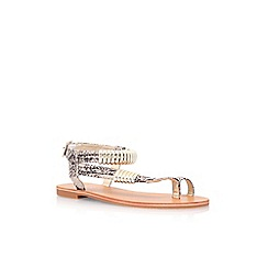 Carvela - Brown 'Klipper' flat sandals