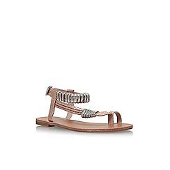 Carvela - Metal 'Klipper' flat sandals