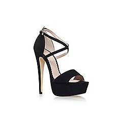 Carvela - Black 'Jump' high heeled sandal