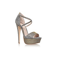 Carvela - Metal 'Jump' high heeled sandal