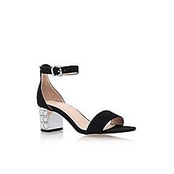 Carvela - Black 'Leyland' mid heel sandal