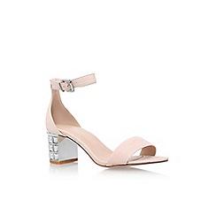 Carvela - Natural 'Leyland' mid heel sandal
