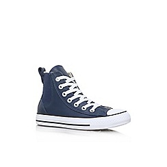 Converse - Blue 'Ct Chelsee Low' high top lace up sneaker