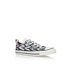 Converse - Black 'Ct Missoni Low' lace up sneaker