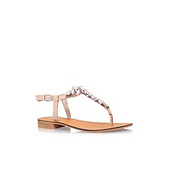 Carvela - Natural 'Belle' low heel sandal