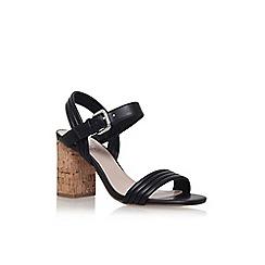 Carvela - Black 'slick' high heel sandal